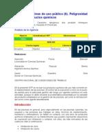 NTP 690 Piscinas públicas.Peligrosidad poductos químicos II