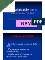 Validaciones BPM
