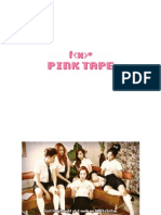 Digital Booklet - f(x) the 2nd Album 'Pink Tape'