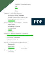Smartforms FAQ's