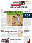 05/22/09 - The Stanford Daily [PDF]