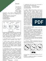 Exercícios Sobre Classificação Biológica e meiose