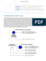 Troubleshooting Current Loops