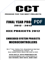 2012-11 IEEE Embedded System Project Titles, NCCT IEEE 2012-11 Project List