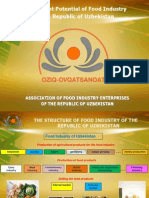 Investment Potential of Food Industry