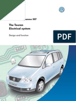 vw touran electrical system | Relay | BusScribd