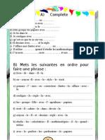 Mon Bureau Sheet1