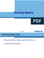 Ch 8 Routing Basics