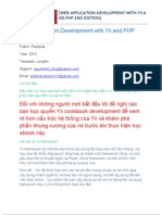 Web Application Development With Yii and PHP Nov2012 Tiếng Việt