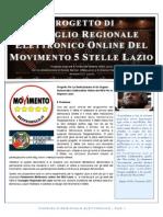 Progetto Consiglio Regionale Elettronico Lazio M5S