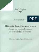 Romana Falcón, Un diálogo entre teoríss, historias y archivos