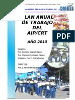 Plan de Trabajo Para 2013