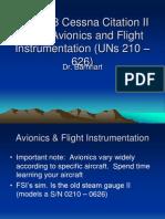 AST 473 Cessna Citation II Avionics