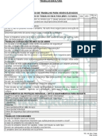 Check List Para Trabalho Em Altura[1]