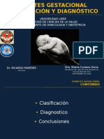 DMG, Diagnostico y clasificación