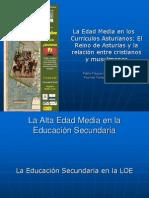 Edad Media en los currículos asturianos (2011)