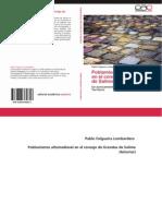 Poblamiento Altomedieval en Grandas de Salime (2012)