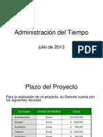 Administración del Tiempo (Mejorado - 10)