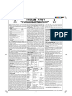 Indian Army UES Permanent Commission Notification