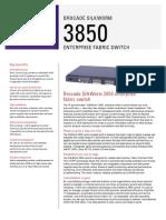 Brocade 3850 Specifications