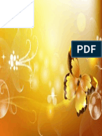 Golden Butterfly Vector Background 600x375