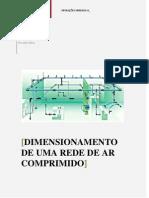 Dimensionamento de Uma Rede Ar Comprimido