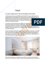 RLa Location d'Appartements en Russie Est le Meilleur Choix possibleR Meilleur Choix