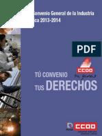 XVII Convenio General de La Industria Quimica Subrayado
