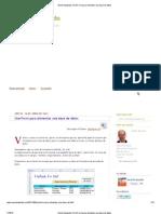 Excel Avanzado_ UserForm Para Alimentar Una Base de Datos