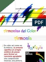TEORÍA DEL COLOR - 4 - Armonías del Color