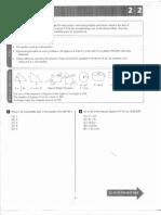 PSAT Sample Test Math Only