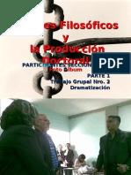 APORTES FILOSOFICOS Y LA PRODUCCION DOCTORAL
