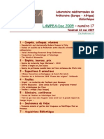 LAMPEA-Doc 2009 – numéro 17 / Vendredi 22 mai 2009