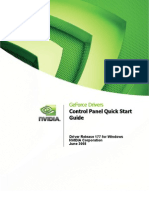 177.35 NVIDIA Control Panel Quick Start Guide