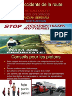 arrêter accidents de la route
