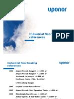 Uponor Industrial Floor Heating-refernces2