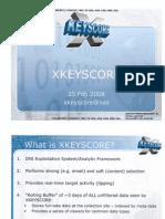 XKeyscore Slideshow Leaked By The Guardian