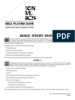 Dcc RPG Quick Start Guide