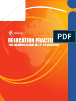 Study on Relocation Practices for Incoming Global Talent to Singapore
