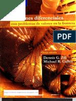 Ecuaciones Diferenciales Con Valores En La Frontera - Dennis G. Zill 6Edición