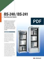 Siemens BS-240 / BS-241 Brochure