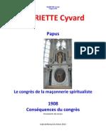 Papus Congres Franc-maconnerie 1908