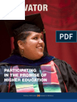 Innovator vol. 40, Spring 2009. Participating in the Promise of Hgher Education.