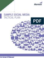 Sample Social Media Tactical Plan