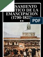 Pensamiento político de la emancipación 2-2
