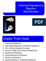 Chapter3 (Reaction Stoichiometry)