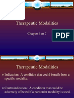 Chapter 6 Therapeutic Modalities