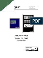 AFP-400 US Prog Manual