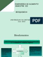 BIOQUIMICA-GENERALIDADES