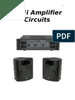 Hi fi audio amplifiers